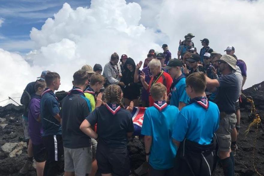 Marple Scouts journey around Japan