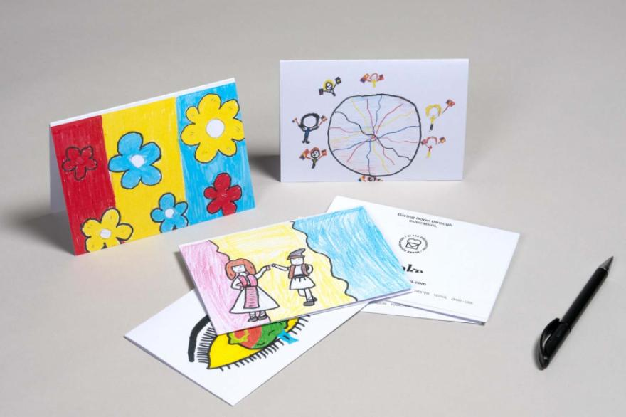 Greeting Cards: Raising Funds for Romanian Orphanage