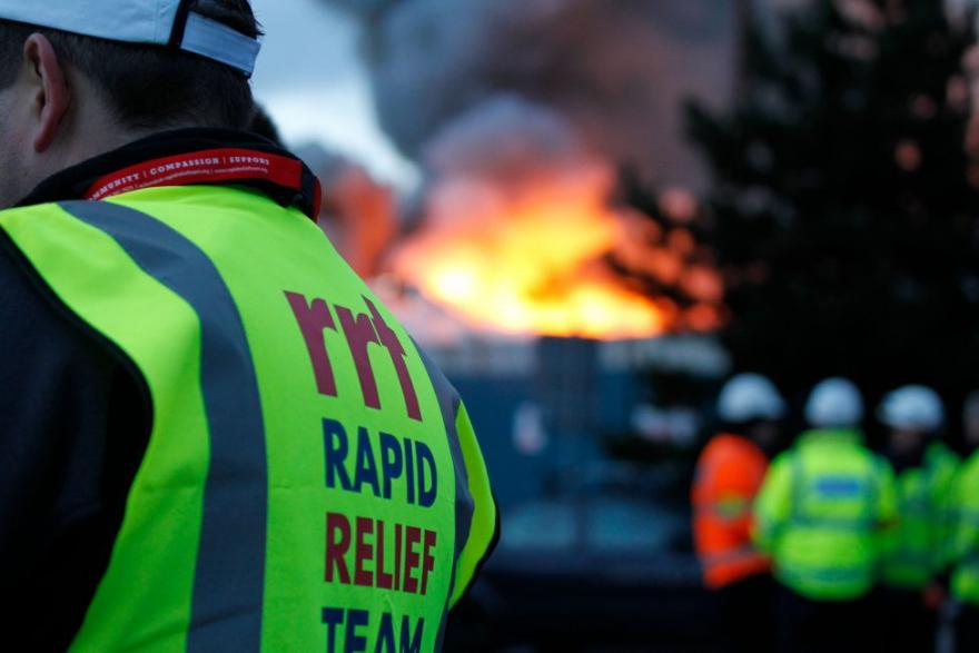 Supporting the Rapid Relief Team in the Fight Against Fire in Australia