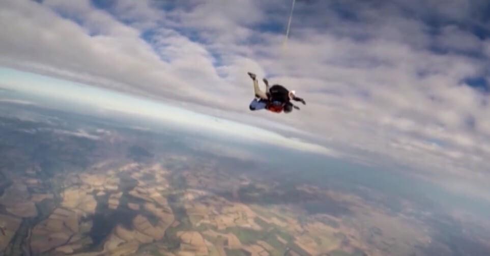 Nicole Paterson Sky Dive