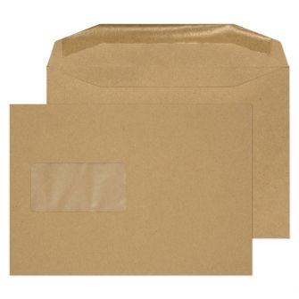 Mailer Gummed Window Manilla C5 162x229 80gsm Envelopes