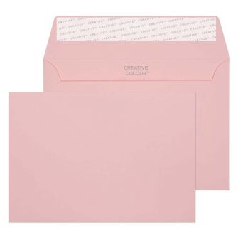 Wallet Peel and Seal Baby Pink C6 114x162 120gsm Envelopes