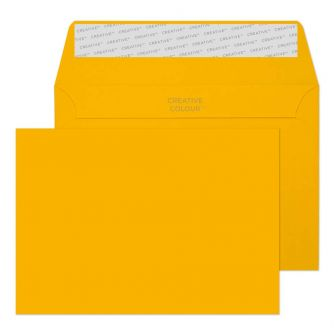 Wallet Peel and Seal Egg Yellow C6 114x162 120gsm Envelopes