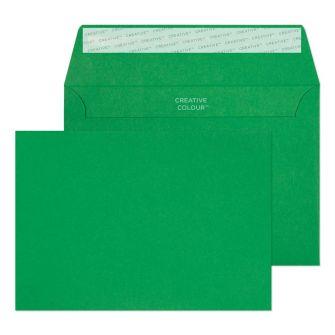 Wallet Peel and Seal Avocado Green C6 114x162 120gsm Envelopes