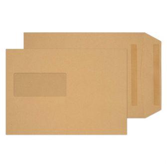 Pocket Self Seal Window Manilla C5 229x162 80gsm Envelopes