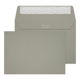 Wallet Peel And Seal Storm Grey C6 114x162 120gsm Envelopes