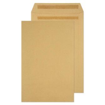 Pocket Self Seal Manilla 352x229 115gsm Envelopes