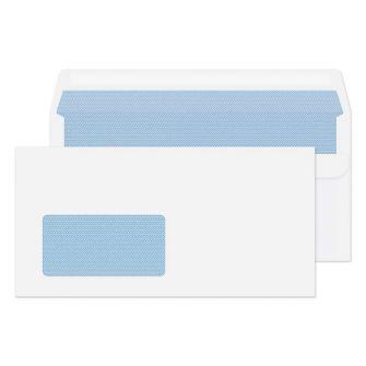 Wallet Self Seal White German Window 110x220 Envelopes