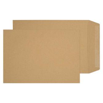 Pocket Gummed Manilla 254x178 115gsm Envelopes