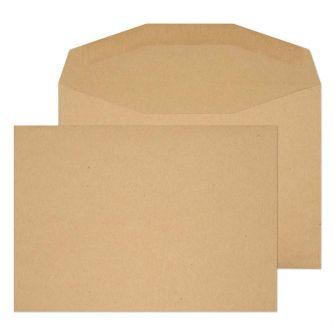 Mailer Gummed Manilla C6 114x162 80gsm Envelopes