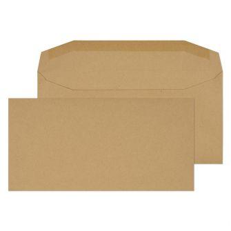 Mailer Gummed Manilla DL 110x220 80gsm Envelopes