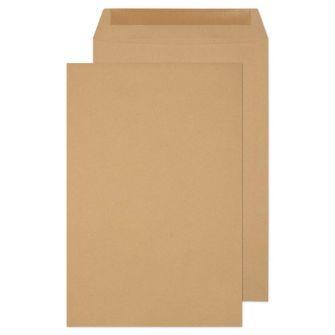 Pocket Gummed Manilla 381x254 115gsm Envelopes
