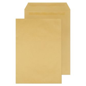 Pocket Self Seal Manilla 381x254 115gsm Envelopes