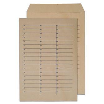 Internal Mail Pocket UnGummed Manilla C4 324x229 90gsm Envelopes