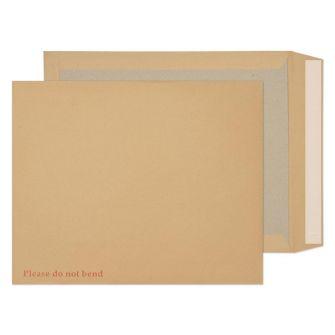 Board Back Pocket Peel and Seal Manilla 394x318 120gsm