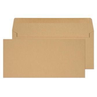 Wallet Gummed Manilla BRE 102x216 80gsm Envelopes
