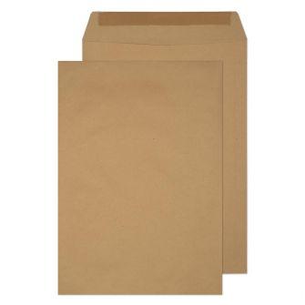 Pocket Gummed Manilla B4 352x250 120gsm Envelopes