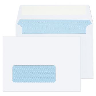 Wallet Peel and Seal White 100gsm C6 114x162  Envelopes