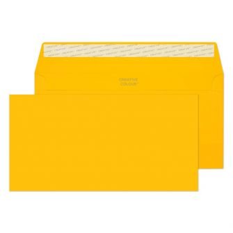 Wallet Peel and Seal Egg Yellow DL+ 114x229 120gsm Envelopes