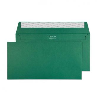 Wallet Peel and Seal British Racing Green DL+ 114x229 120gsm Envelopes