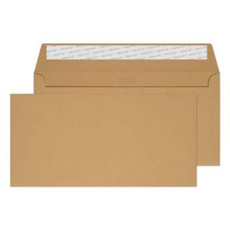 Wallet Peel and Seal Biscuit Beige DL+ 114x229 120gsm Envelopes