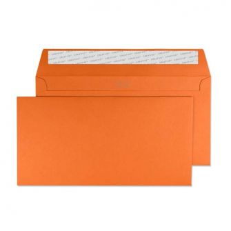 Wallet Peel and Seal Marmalade Orange DL+ 114x229 120gsm Envelopes