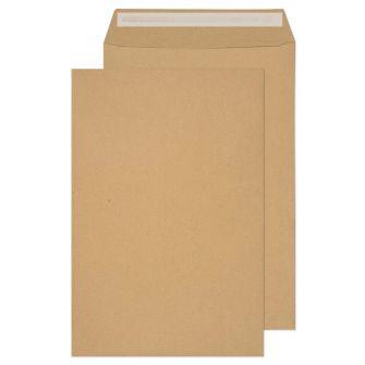 Pocket Peel and Seal Manilla 381x254 115gsm Envelopes