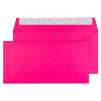 Wallet Peel and Seal Shocking Pink DL+ 114x229 120gsm Envelopes