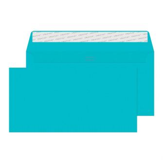 Wallet Peel and Seal Cocktail Blue 114x229 120gsm Envelopes