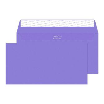 Wallet Peel and Seal Summer Violet DL+ 114x229 120gsm Envelopes
