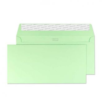 Wallet Peel and Seal Spearmint Green DL+ 114x229 120gsm Envelopes