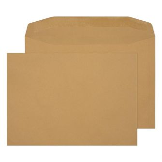 Mailer Gummed Manilla C4 229x324 100gsm Envelopes