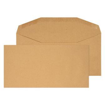 Mailer Gummed Manilla DL+ 114x235 80gsm Envelopes