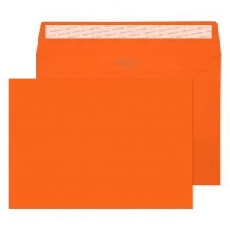 Wallet Peel and Seal Pumpkin Orange C5 162x229 120gsm Envelopes