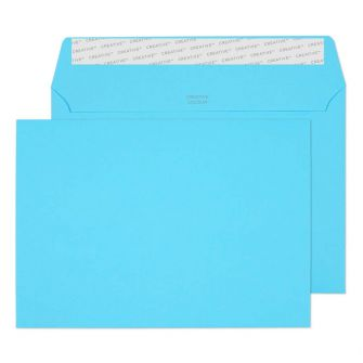 Wallet Peel and Seal Cocktail Blue C5 162x229 120gsm Envelopes