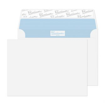Wallet Peel and Seal Ultra White Wove C6 114x162 120gsm Envelopes