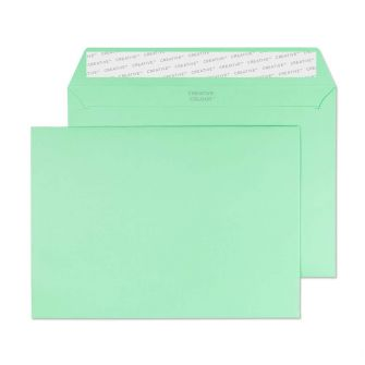 Wallet Peel and Seal Spearmint Green C5 162x229 120gsm Envelopes