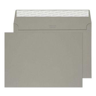 Wallet Peel and Seal Storm Grey C5 162x229 120gsm Envelopes