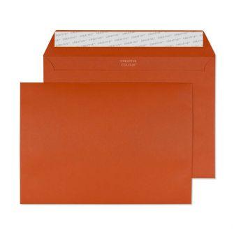 Wallet Peel and Seal Marmalade Orange C5 162x229 120gsm Envelopes