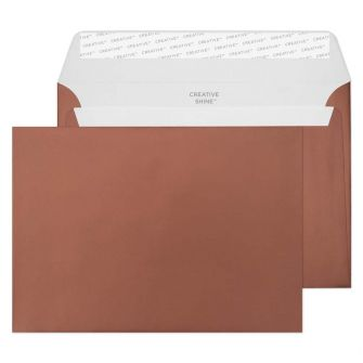 Wallet Peel and Seal Metallic Bronze C5 162x229 120gsm Envelopes