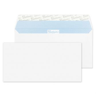 Wallet Peel and Seal Ultra White Wove DL+ 114x229 120gsm Envelopes
