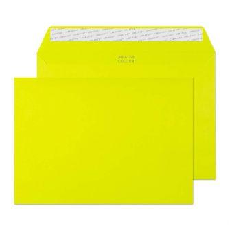 Wallet Peel and Seal Acid Green C5 162x229 120gsm Envelopes