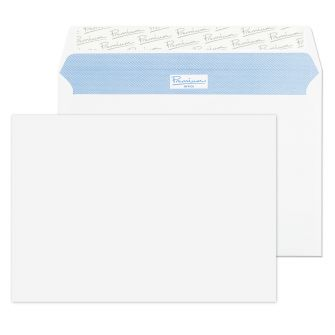 Wallet Peel and Seal Ultra White Wove C5 162x229 120gsm Envelopes