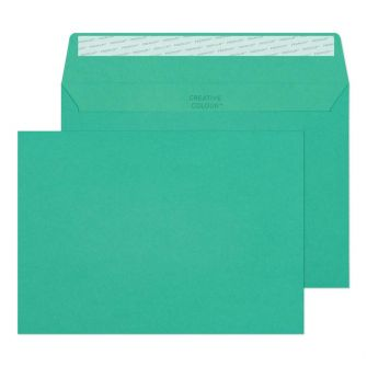Wallet Peel and Seal Teal C5 162x229 120gsm