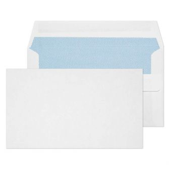 Wallet Self Seal White 89x152 80gsm Envelopes