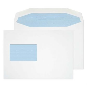 Mailer Gummed CBC Window White C5 162x229 90gsm Envelopes