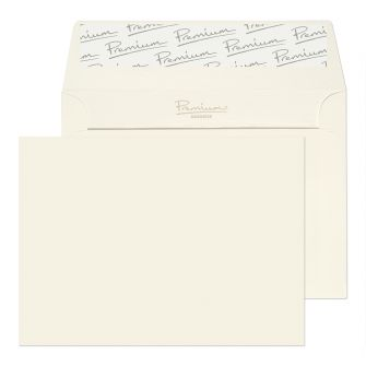Wallet Peel and Seal High White Laid C6 114x162 120GM PK50 Envelopes