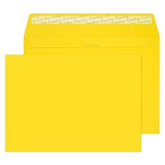 Wallet Peel and Seal Banana Yellow C4 229x324 120gsm