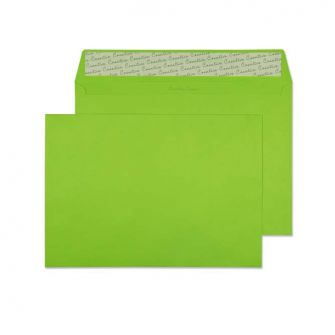 Wallet Peel and Seal Lime Green C4 229x324 120gsm