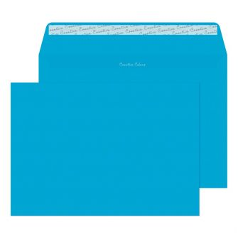 Wallet Peel and Seal Caribbean Blue C4 229x324 120gsm